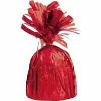 BALLOON WEIGHT FOIL - RED