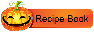 Halloweenn Download Button - recipe book