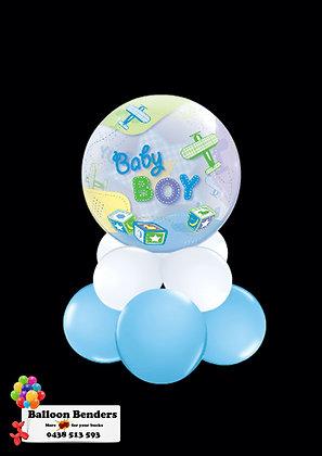 A56CM BABY BOY BUBBLE BALLOON AEROPLANE /1