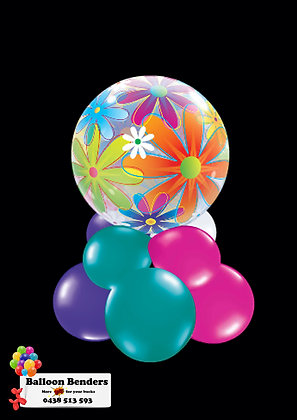 A56CM BUBBLE BALLOON FANCIFUL FLOWERS /1