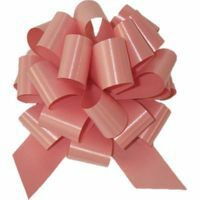 PULL STING BOW 12PK - DUSTY PINK