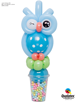WINKED OWL CANDY CUP