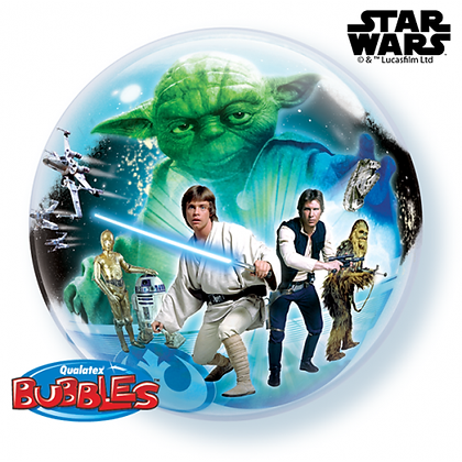 56CM STAR WARS BUBBLE BALLOON