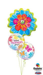 MOTHER'S DAY FOIL FLOWER & BUBBLE  BOUQUET
