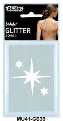 GLITTER TATTOO - STARS