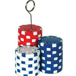 POKER CHIP BALLOON WEIGHT