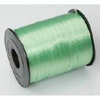 CRIMPED CURLING RIBBON - LIME GREEN