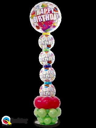 Colourful Cupcake Suprise Column