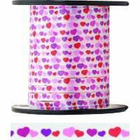 CURLING RIBBON - HEARTS