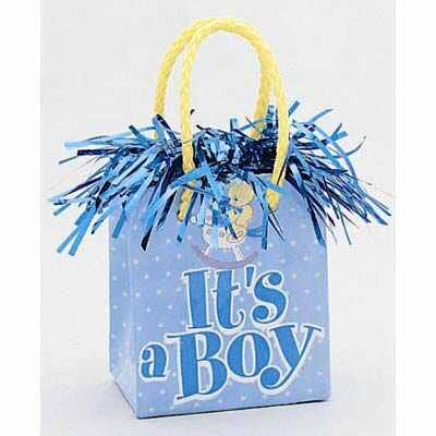 GIDT BAG BALLOON WEIGHT - ITS A BOY