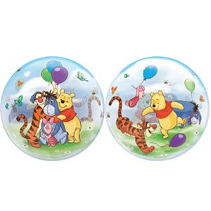 56CM DISNEY WINNIE THE POOH AND FRIENDS BUBBLE BALLOON