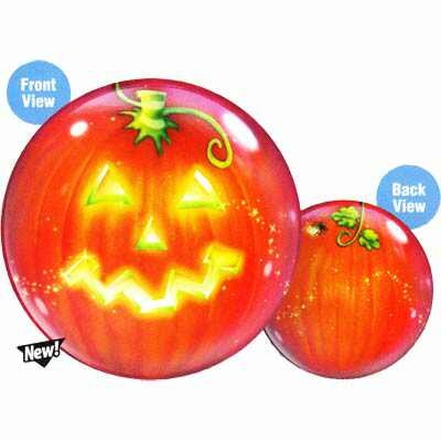 56CM MAGICAL JACK O LANTERN BUBBLE BALLOON
