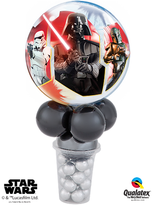 STARWARS DARK SIDE LICENCED CANDY CUP