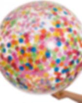 Rainbow Bright Giant Confetti Balloon.jp
