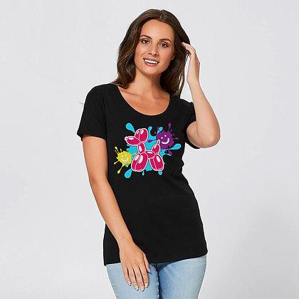 Womens Balloon Dog T-Shirt