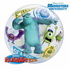 56CM MONSTERS INC UNIVERSITY BUBBLE BALLOON