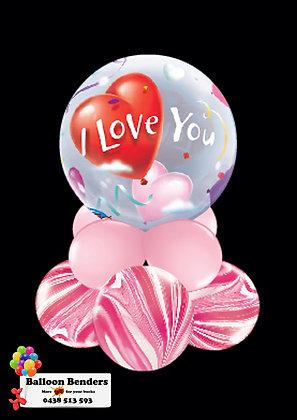 A56CM BUBBLE BALLOON I LOVE YOU HEART /1