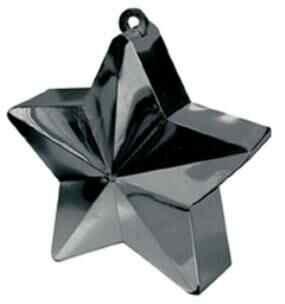 BALLOON WEIGHT STAR - BLACK