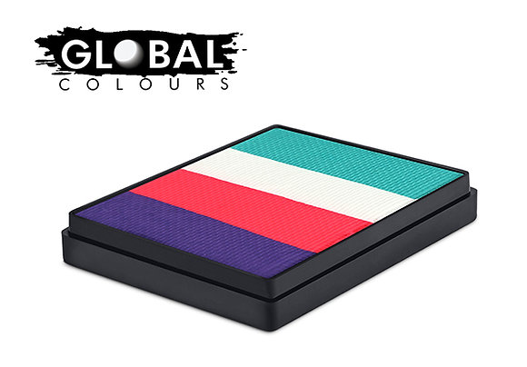 HOLLAND - GLOBAL COLOURS RAINBOW CAKE