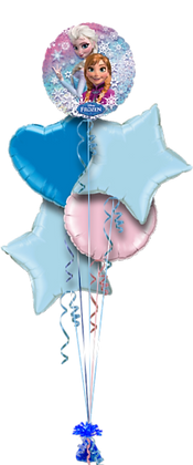 FROZEN BALLOON BOUQUET - LICENSED