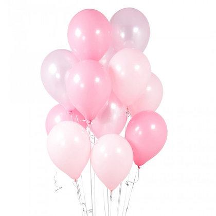 Princess Latex Party Balloons - 14 Pack