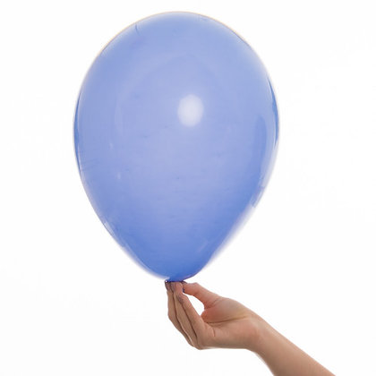 Periwinkle 11 inch Latex Party Balloons