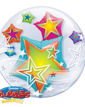 Qualatex Double Bubble - Stars.png