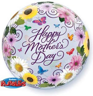 A56CM BUBBLE BALLOON MOTHERS DAY GARDEN /1