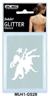GLITTER TATTOO - FAIRY AND 1 STAR