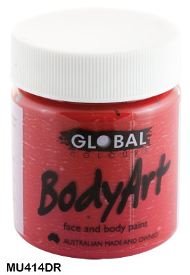 GLOBAL COLOURS DEEP RED FACE PAINT