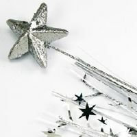 SPANGLE FOAM STAR - SILVER
