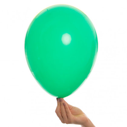 Winter Green 11 inch Latex Party Balloons