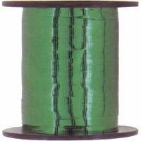 METALLIC CURLING RIBBON - EMERALD GREEN