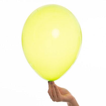 Lemon Chiffon 11 inch Latex Party Balloons