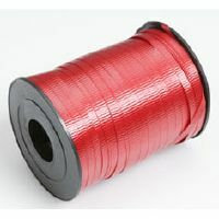 CRIMPED CURLING RIBBON -  RED