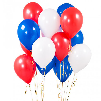 Australia Day Latex Party Balloons - 14 Pack