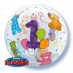 56CM 1 BUBBLE BALLOON