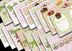 FREE PRINTABLES - MOTHERS DAY HIGH TEA1.