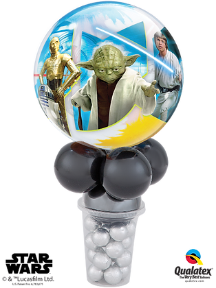 STARWARS LIGHT SIDE LICENCED CANDY CUP