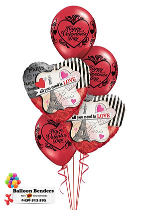 A PARIS - ALL YOU NEED IS LOVE BOUQUET