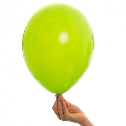 Lime Green 11 inch Latex Party Balloon