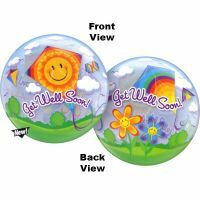 56CM BUBBLE BALLOON GET WELL SOON KITES /1
