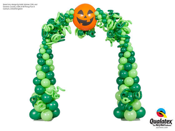 SMILING JACK HALLOWEEN ARCH