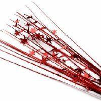 SPANGLE STAR SPRAY - RED