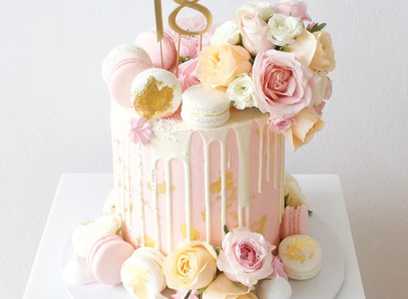 How to achieve a designer cake on a budget with no time to bake