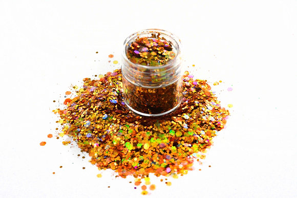 WOODSTOCK FESTIVAL GLITTER -COPPER LOAD