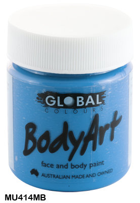 GLOBAL COLOURS MURF BLUE FACE PAINT