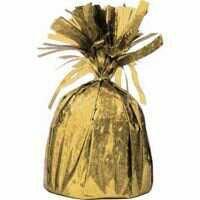BALLOON WEIGHT FOIL - GOLD