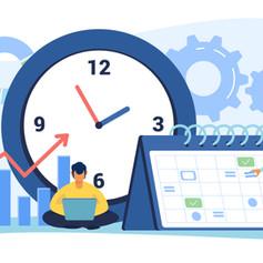 תזמון מטלות בלוח השנה של המודל