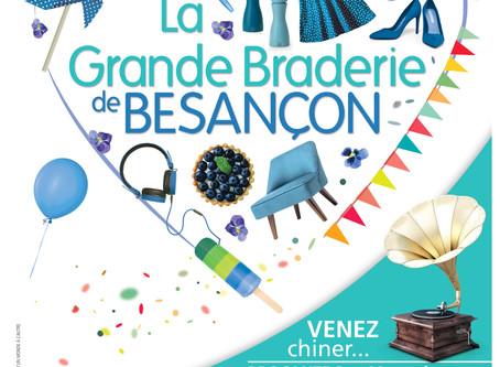 La Grande Braderie d'été du Centre-Ville de Besançon !